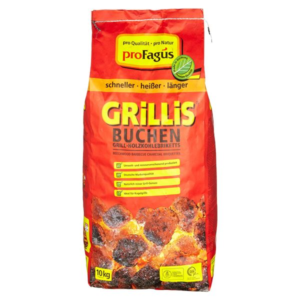 Grillis Briketts 10 kg