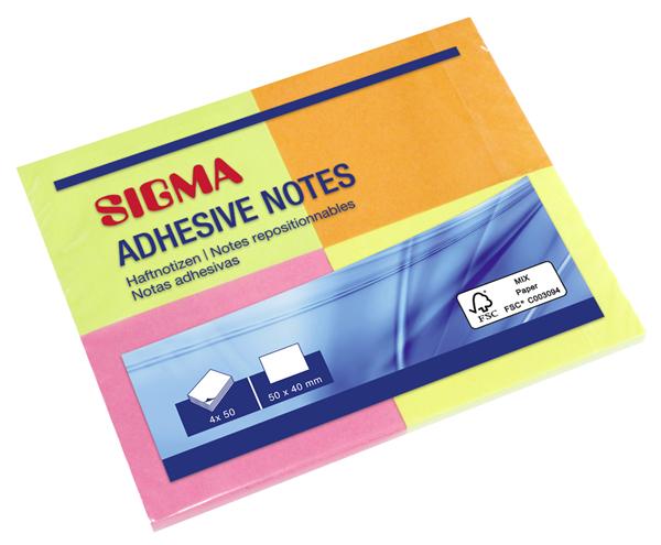 Sigma Haftnotizen - 20 Stück