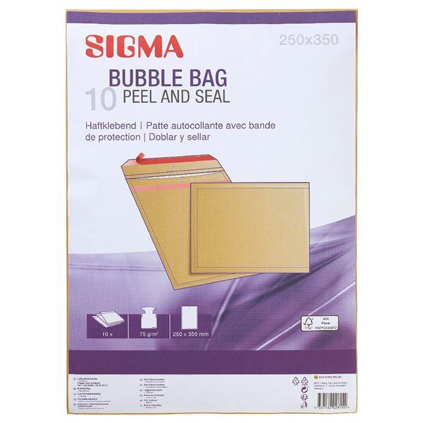 Sigma Luftpolstertaschen 252 x 350 - 10 Stück