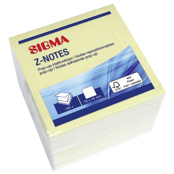 Sigma Z-Notes - 6 x 100 Blatt