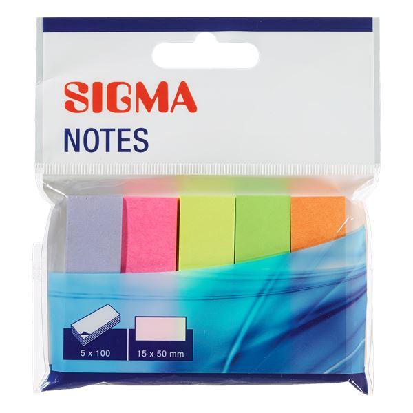 Sigma Index Haftmarker - 5 Stück