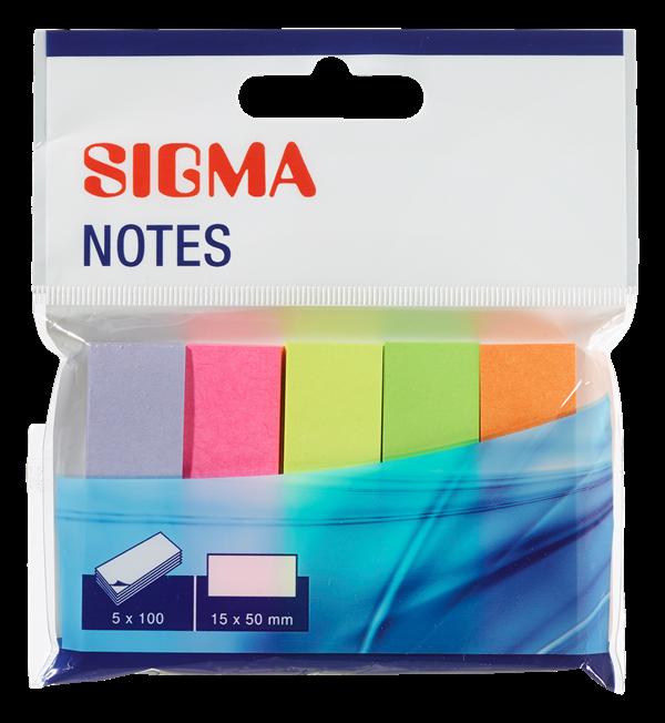 Sigma Haftnotizen - 5 Stück