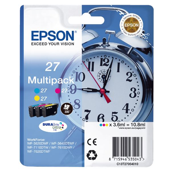 Epson Tintenpatronen T2705 Multipack