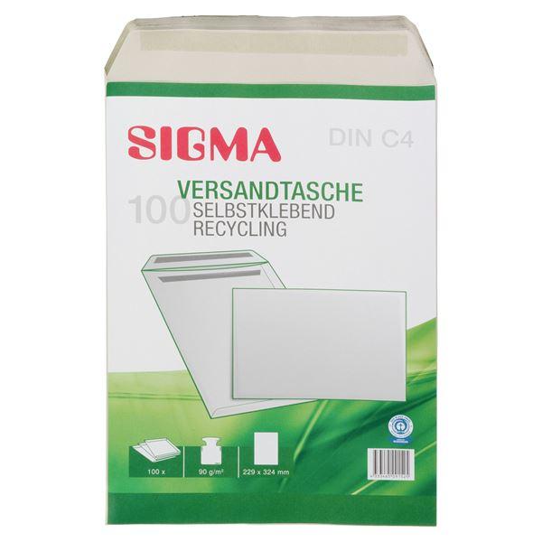 Sigma Versandtasche DIN C4 - 100 Stück