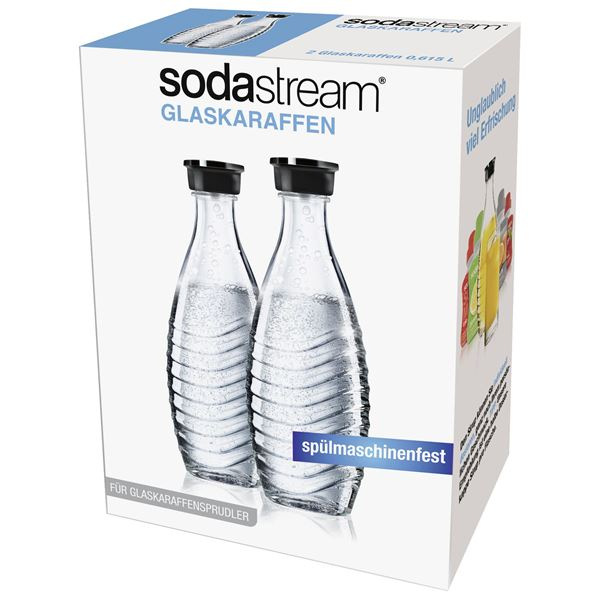 Sodastream Glaskaraffe Duo-Pack