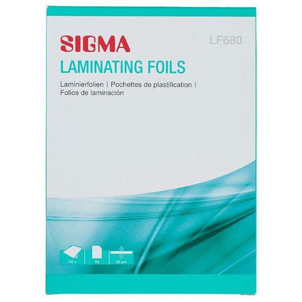 Sigma Laminierhüllen LF680 A6 - 100 Stück
