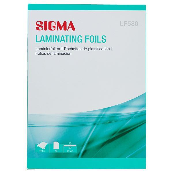 Sigma Laminierhüllen LF580 A5 - 100 Stück