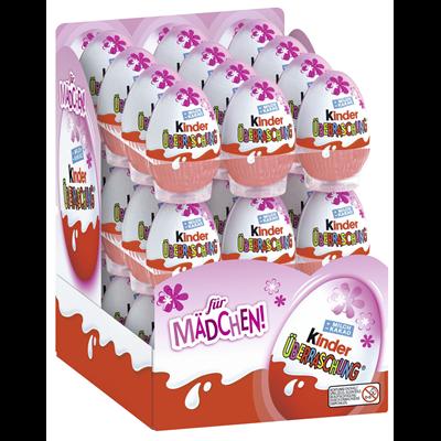 Ferrero Kinder Schokoladen Überraschungsei Mädchen 36 Stück
