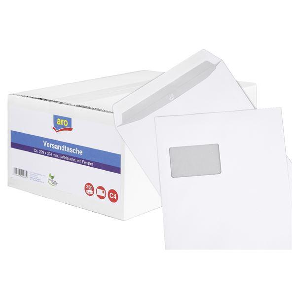 Sigma Versandtasche DIN C4 - 250 Stück