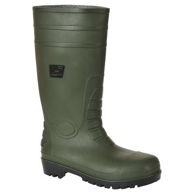 Bottes de sécurité wellington s5 vert T.45 Portwest | METRO