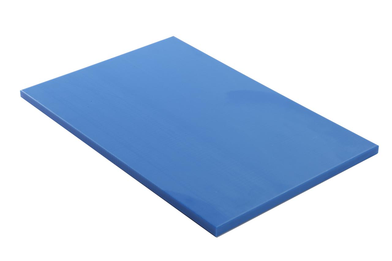Planche /à d/écouper PEHD 500 Rouge 50x30x2 cm Lobrot