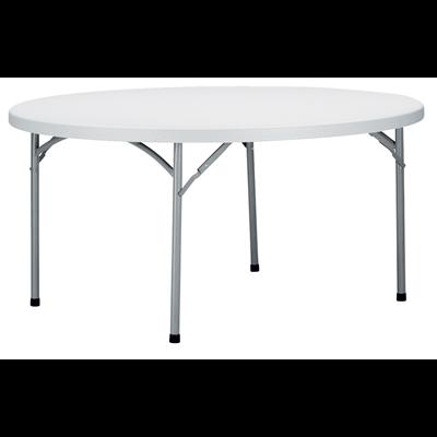 Table De Reception Pliante Ronde 180 Cm Metro