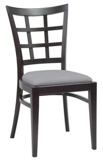 Chaise Bistrot Boston Weng Grise