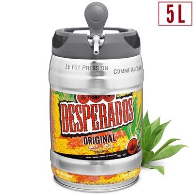 Biere Aromatisee A La Tequila 5 9 5 L Fut Consigne Desperados Metro
