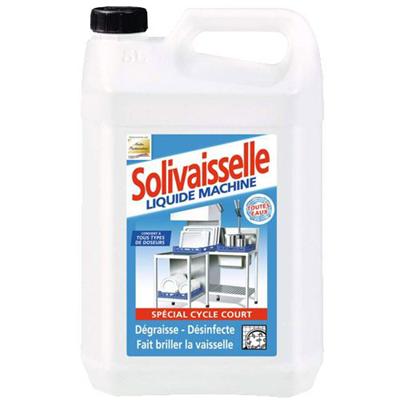 Liquide Lave Vaisselle Cycle Court Solivaisselle 5 L Solipro Metro