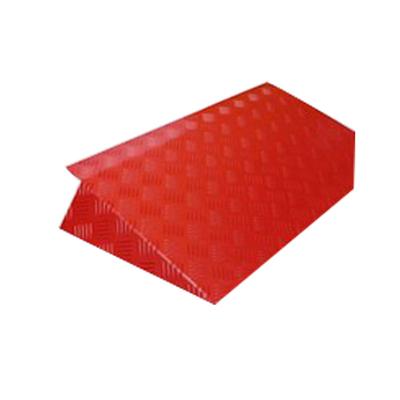 Rampe de seuil aluminium rouge L.34 cm Handinorme