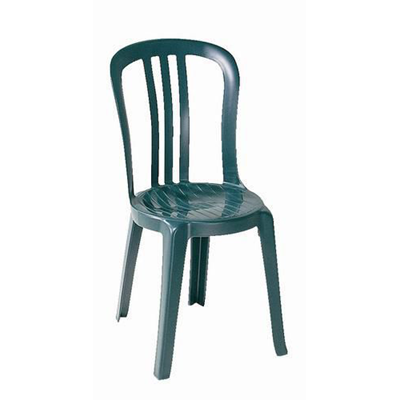 Chaise De Terrasse Miami Vert Amazone Grosfillex