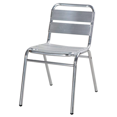 Chaise De Terrasse Aluminium 5 Lattes
