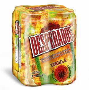 Biere Aromatisee A La Tequila 5 9 4 X 50 Cl Boite Desperados Metro