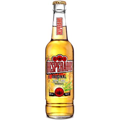 Biere Aromatisee A La Tequila 5 9 33 Cl Verre Consigne Desperados Metro