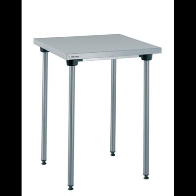 Table Inox Centrale Sans Etagere 60 X 60 Cm Metro