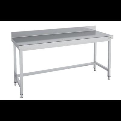 Table Inox Adossee Serie 700 Mmsd70 200 Longueur 200 Cm Metro