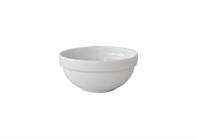 Coupelle porcelaine empilable 12 cm x 3