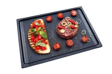 Risoli piastra barbeque grigliata in alluminio fuso antiaderente ad alto spessore 6mm manici - Piastra in acciaio inox per cucinare ...