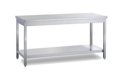 Metro professional tavolo da lavoro in acciaio inox 100x70 metro