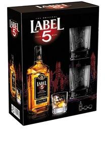 Confezione Whisky Label 5