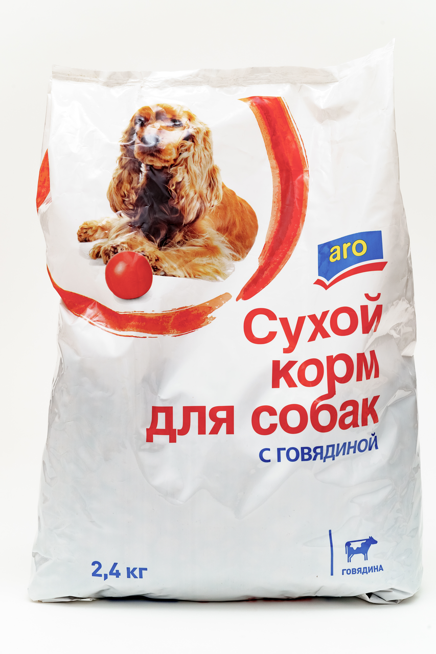 2,4КГ СУХ КОРМ Д/СОБ ARO