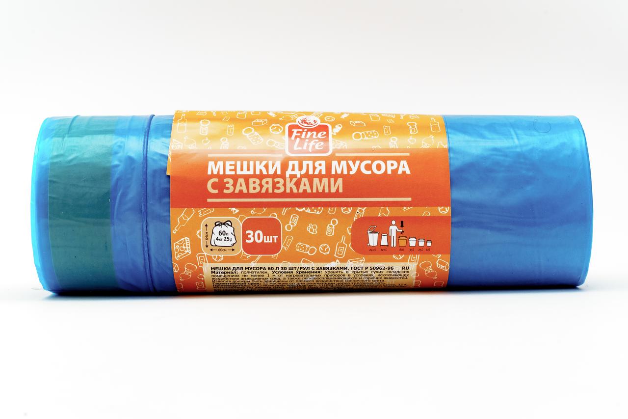 МЕШ Д/МУС 60 Л 30 ШТ/Р ЗАВ FL
