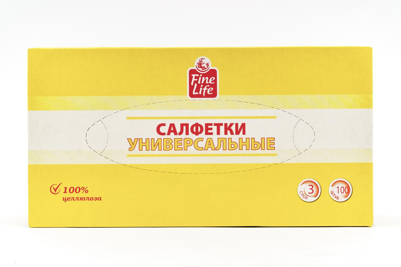 100ШТ FINE LIFE САЛФ УНИВ 3СЛ