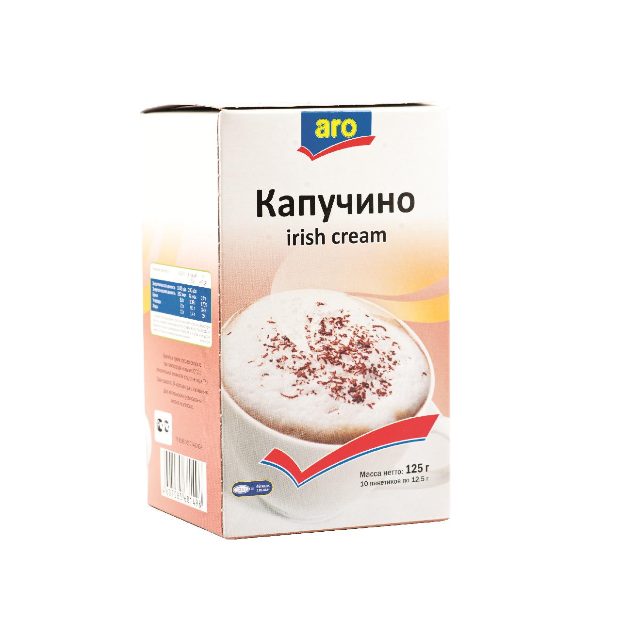 125Г ARO КАПУЧИНО АЙРИШ КРЕМ