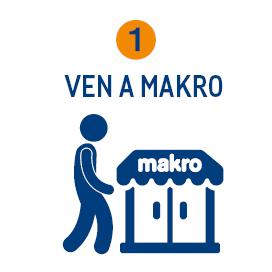 Entrega, ven a Makro