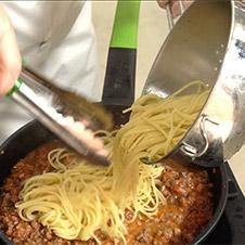 Espaguetis boloñesa - Paso 5