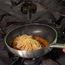 Noodles con langostinos - Paso 5