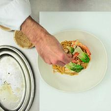 Noodles con langostinos - Paso 6