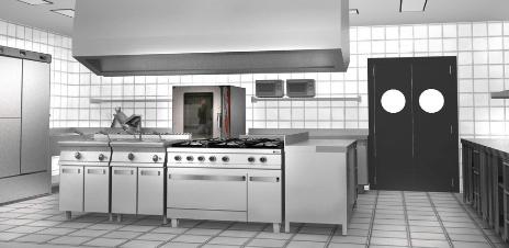 Limpieza y desinfección de la cocina