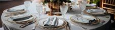 Menaje y desechables para catering y eventos