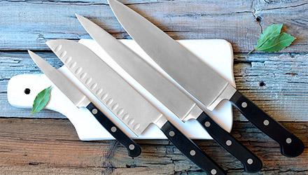 Machetes de Makro para cocinas profesionales