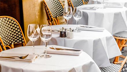 Manteles de Makro para restaurante profesional
