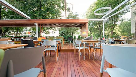 Equipamiento para hostelería de Makro para terrazas