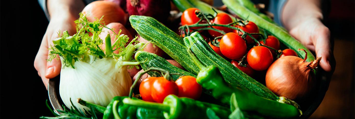 Verduras frescas en tiendas Makro