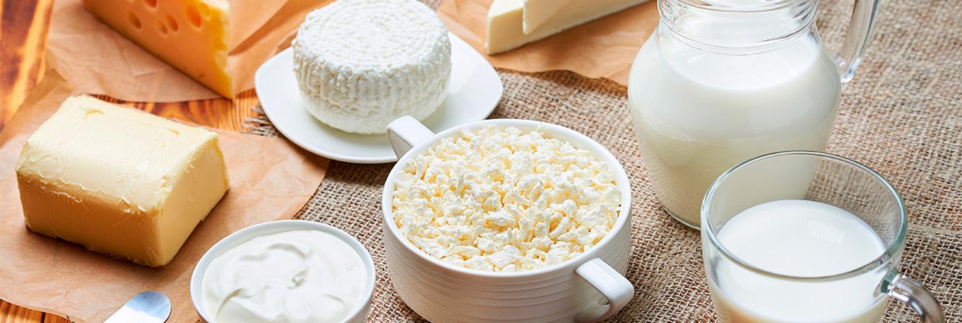 Quesos y lácteos Makro