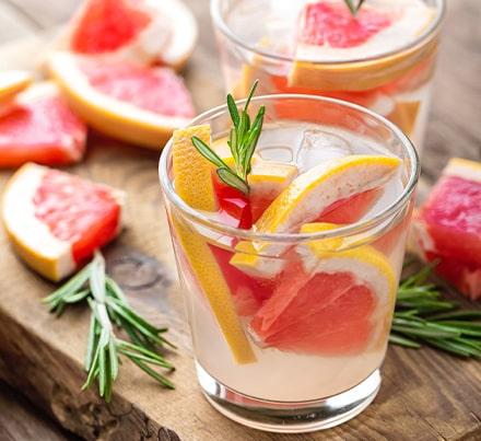 Mocktail Pamplemousse romarin