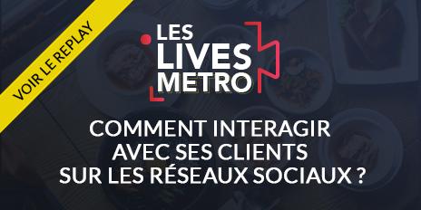 Replay du Live Instagram METRO - Comment interagir avec ses clients sur les réseaux sociaux ?