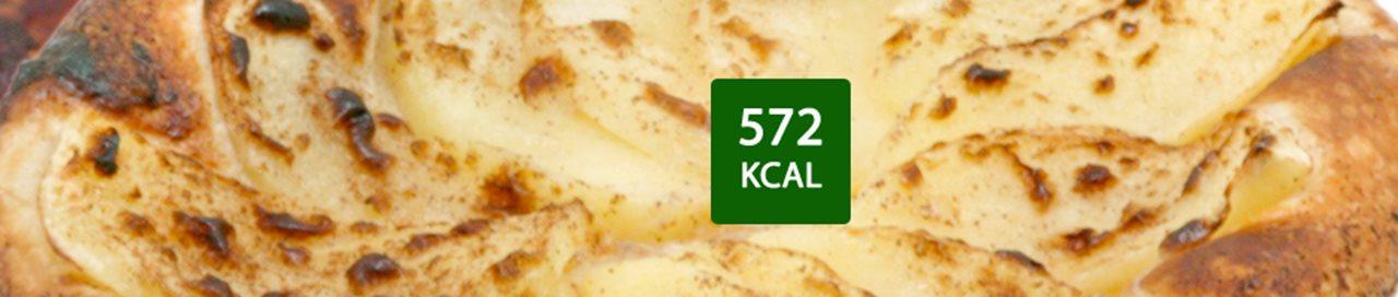 Tarte fine à la pomme, caramel et beurre salé