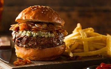 Recettes de chefs | Burger au bleu d'Auvergne