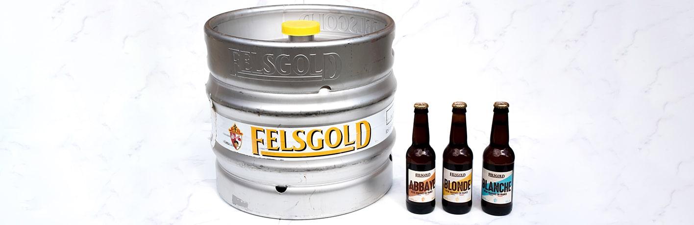 METRO - Felsgold : bière 100 % française pour tous les goûts